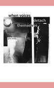 when voices detach themselvesby gary lundy (poetry) ISBN 978-0-9896245-0-3